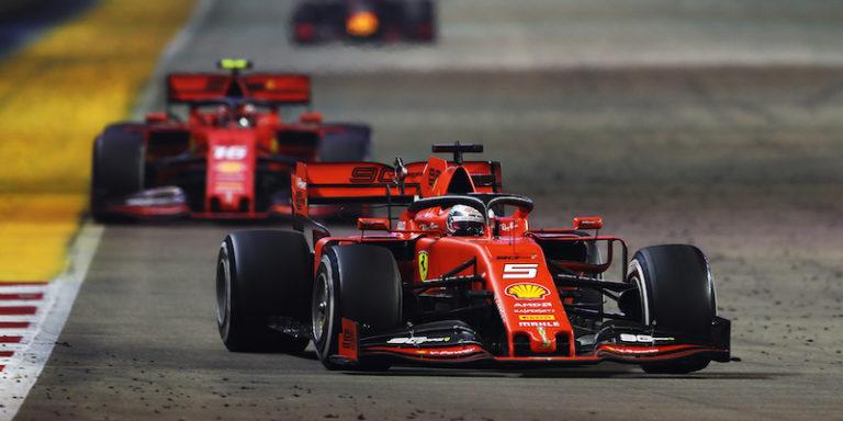 Formula 1, Singapore: Vettel ritrova il successo, Leclerc completa la doppietta rossa