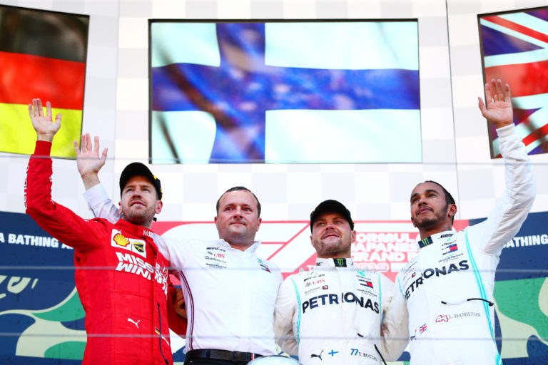 Formula 1, Giappone: vince Bottas, Mercedes campione del mondo costruttori