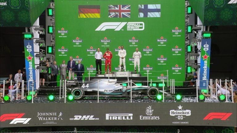 Formula 1, Messico: Hamilton vince di forza ed è a un passo dal sesto titolo