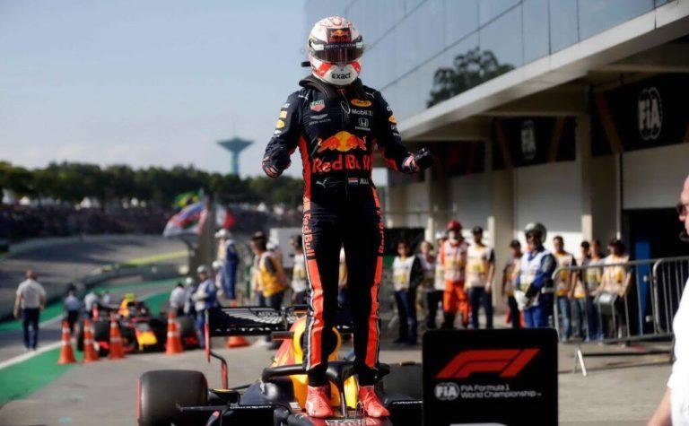 Formula 1, Brasile: trionfo di Verstappen, Gasly secondo, autoscontro Ferrari