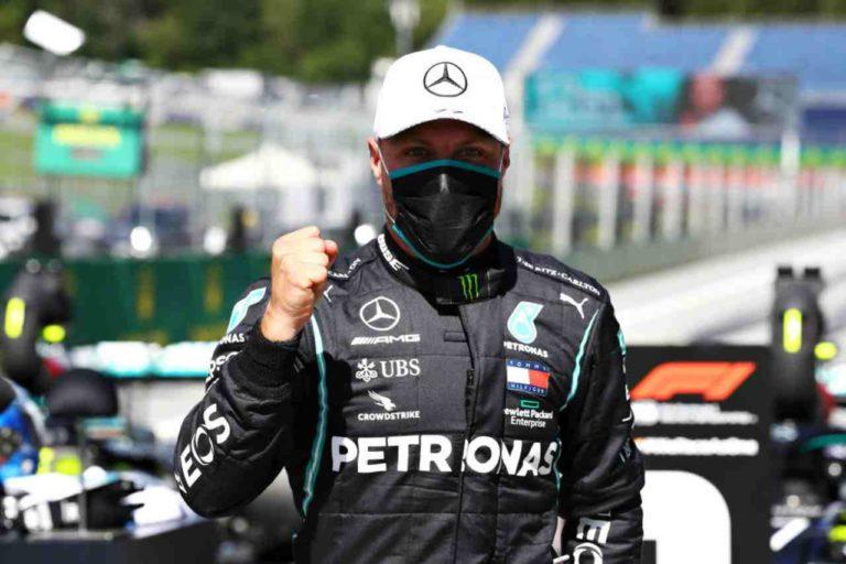 Formula 1, Austria: vince Bottas, Hamilton penalizzato, Leclerc e Norris a podio