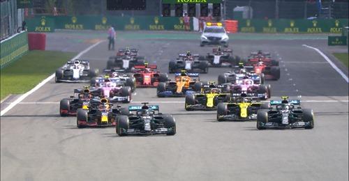 Formula 1, Belgio: Hamilton+Bottas, doppietta Mercedes. Ferrari nell'abisso