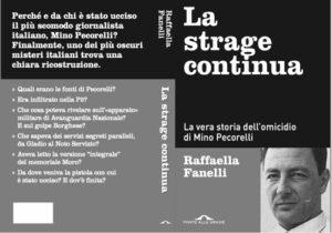 La Strage Continua: copertina del libro su Mino Pecorelli