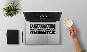 Un laptop simbolico dello smart working